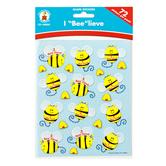 """Carson-Dellosa, I """"Bee""""lieve Shape Stickers, 1 x 1 Inch, Multi-Colored, Pack of 72"""