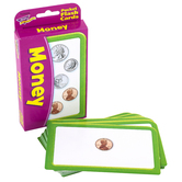 TREND enterprises, Inc., Money Pocket Flash Cards, 56 Cards, 3 1/8 x 5 1/4 inches, Ages 6 and up