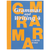 Saxon Grammar and Writing Student Textbook, Grade 4, 111 Lessons, Curtis Hake, 605 Pages