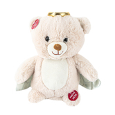 Cuddle Barn, My Guardian Angel Bear Plush Toy, Tan, 10 inches, Ages 2 and up