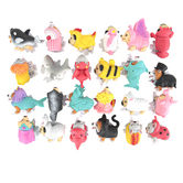 Schylling, Costume Party Pocket Pup, Assorted Styles, 3 1/2 x 2 1/2 inches, Ages 3 and Older