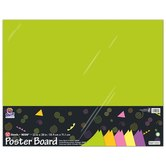 Pacon, Heavy Poster Board, 22 x 28 Inches, Assorted Neon Colors, 10 Pack