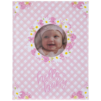 Brother Sister Design Studio, Hello Baby Memory Book, 11 1/4 x 8 3/4 Inches
