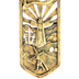 Life Of Christ Wall Cross, Bronzed Resin, 11 inches