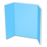 Sky Blue Project Display Board