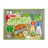 Melissa & Doug, Slice and Toss Salad Set, Ages 3 to 6 Years Old, 52 Pieces