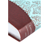 NLT Women's Sanctuary Devotional Bible. Duo-Tone, Espresso and Floral Print