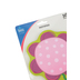 Carson-Dellosa, Flower Shaped Notepad, 5.75 x 6.25 Inches, Pink, Purple & Green, 50 Sheets