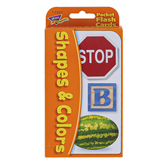 TREND enterprises, Inc., Shapes and Colors Pocket Flash Cards, 56 Cards, 3 1/8 x 5 1/4 inches, Ages 3-7