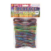 Pepperell Crafts Rexlace Tie  Dye Variety Pack, 300 Feet