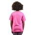 Kerusso, 2 Corinthians 5:17 New Creation Butterfly, Kid's Short Sleeve T-shirt, Safety Pink, 3T