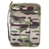 Dicksons, Camo Canvas Bible Cover, Camouflage, Medium