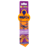 Learning Wrap-Ups, Subtraction Wrap-up Key Set, 1.5 x 6 Inches, Gold, 1 Piece