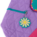 Stephen Joseph, Llama Quilted Backpack, 12 x 13 1/2 inches