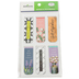 Farmhouse Lane Collection, Magnetic Bookmarks, .75 x 2 Inches, Multi-Colored, Pack of 6