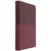 NKJV Value Thinline Bible, Large Print, Imitation Leather, Burgundy