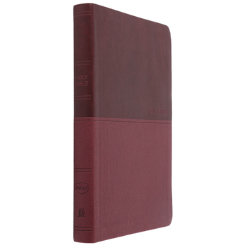 NKJV Value Thinline Bible, Large Print, Imitation Leather, Multiple Colors Available