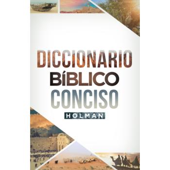 Diccionario Biblico Conciso Holman, by B&H Espanol, Hardcover