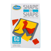 ThinkFun, Shape By Shape: Creative Pattern Game, 1 Player, Ages 8 and Older