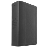 NLT Illustrated Study Bible, Duo-Tone, Black and Onyx