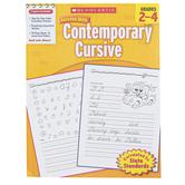 Scholastic, Success With Contemporary Cursive Handwriting Workbook, Reproducible, Grades 2-4