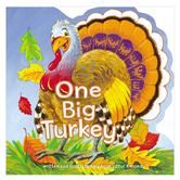 One Big Turkey, by Anne Vittur Kennedy, Board Book