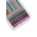 The Fine Touch, Metallic Colored Pencils, Assorted, 12 Colors