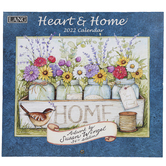 The Lang Companies, Susan Winget Heart & Home 2022 Wall Calendar, 13 1/2 x 24 inches