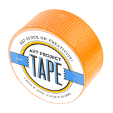 Orange Art Project Tape, 1 7/8 inches x 20 yards, 1 Roll