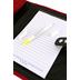 Christian Art, Tri-Fold Bible Cover, Micro-Fiber, Red, Medium