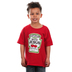 Kerusso, Psalm 37:4, Catch Up With Jesus, Kid's Short Sleeve T-Shirt, Red, 3T