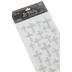 the Paper Studio, Silver Glitter Foam 3D Cross Stickers, 25 Stickers