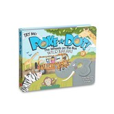 The Wheels On The Bus Wild Safari, Poke-a-Dot Book, by Melissa & Doug, Board Book
