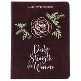 Daily Strength for Women: 365 Daily Devotional, by BroadStreet Publishing, Imitation Leather