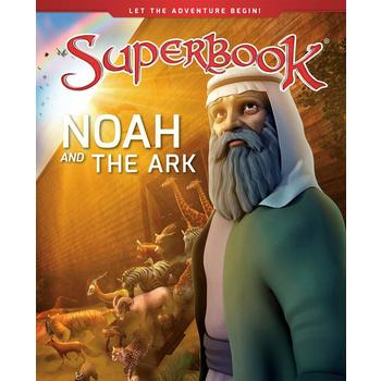 Noah and the Ark, Superbook Series, by CBN, Hardcover