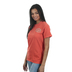 Beautifully Blessed, John 8:36 Set Free, Women's Short Sleeve T-Shirt, Bright Salmon, Small
