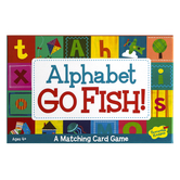 Peaceable Kingdom, Alphabet Go Fish! Game, Ages 4 to 6 Years Old, 2 or More Players