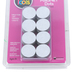 Dowling Magnets, Adhesive Magnetic Dots, 3/4 Inches, White, 100 Pack