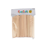 Playside Creations, Jumbo Craft Sticks, 6 x 3/4 Inches, Natural, Pack of 150