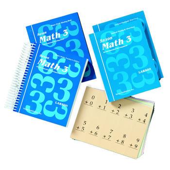 Saxon Math 3 Homeschool Kit