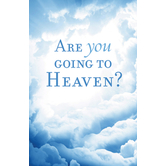 Good News Tracts, Are You Going To Heaven, Set of 25 Tracts