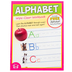 Twin Sisters, Alphabet Wipe-Clean Activity Book, 10 Pages, Grades PreK-K