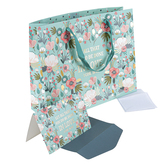 Christian Art Gifts, 1 Corinthians 16:14 Large Gift Bag Set with Card & Tissue Paper