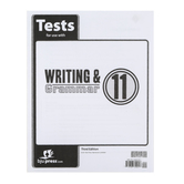 BJU Press, Writing & Grammar 11 Test (3rd Edition)