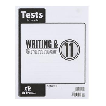 BJU Press, Writing & Grammar 11 Test (3rd Edition)