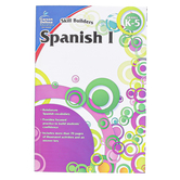 Carson-Dellosa, Skill Builders Spanish I Elementary Workbook, Reproducible, 80 Pages, Grades K-5