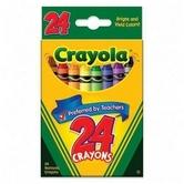 Crayola, Classic Crayons, 24 Count