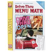 Remedia Publications, Drive-Thru Menu Math: Add & Subtract Money, Paperback, 64 Pages, Grades 3-5