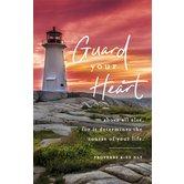 Salt & Light, Proverbs 4:23 Guard Your Heart Church Bulletins, 8 1/2 x 11 inches Flat, 100 Count