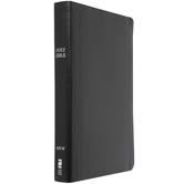 NIV Thinline Bible, Giant Print, Bonded Leather, Thumb Indexed, Multiple Colors Available